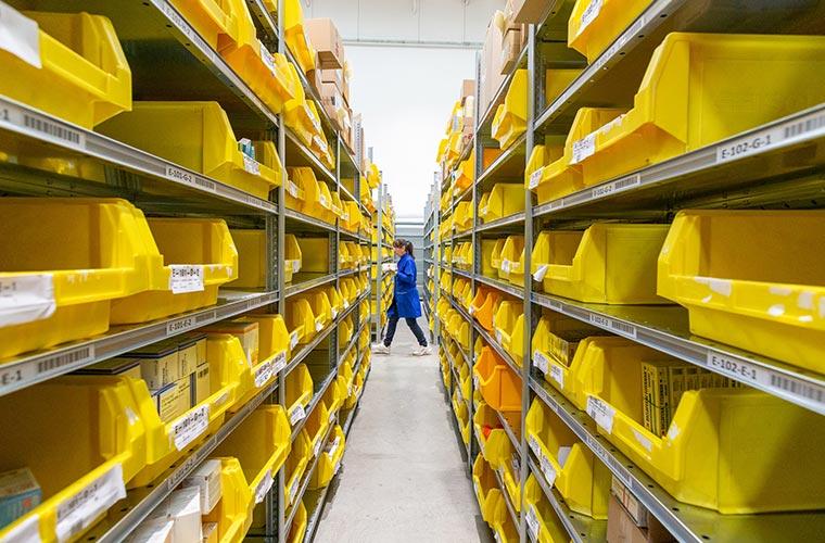 logistica efficiente etichette